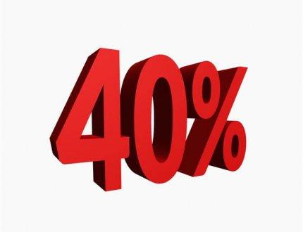 40 אחוז
