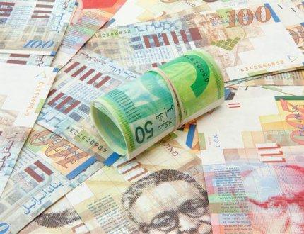הרבה שטרות של כסף