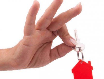 מפתחות של בית חדש שנקנה עם משכנתא נמוכה