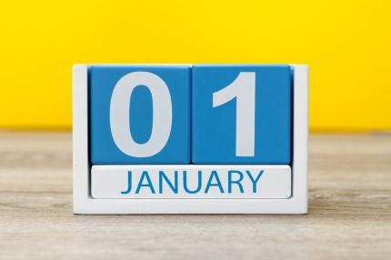 קוביית חודשי השנה ינואר